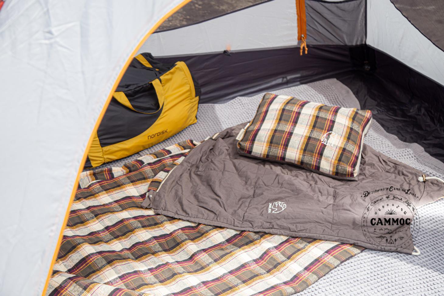 【レビュー】ノルディスクの寝袋が想像以上!使って気付いた6つのポイント