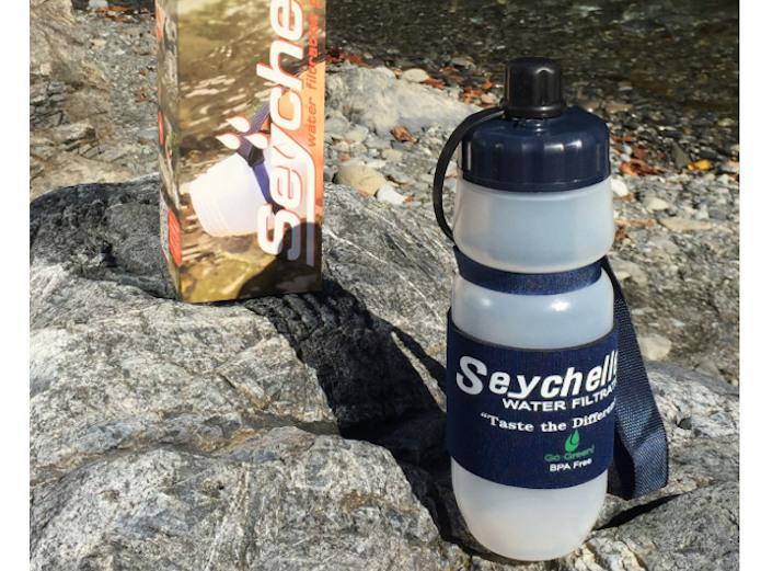 サバイバルプラス携帯浄水ボトル