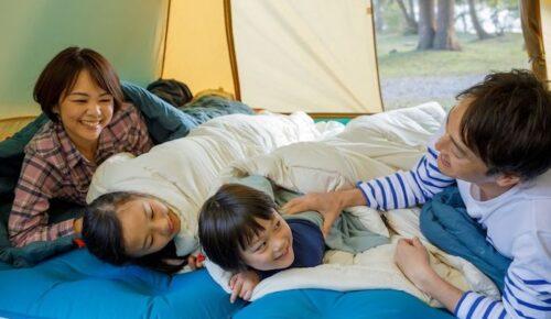 親子で使える【寝袋】丸洗い可能で成長後も長く愛用できるおすすめ5選