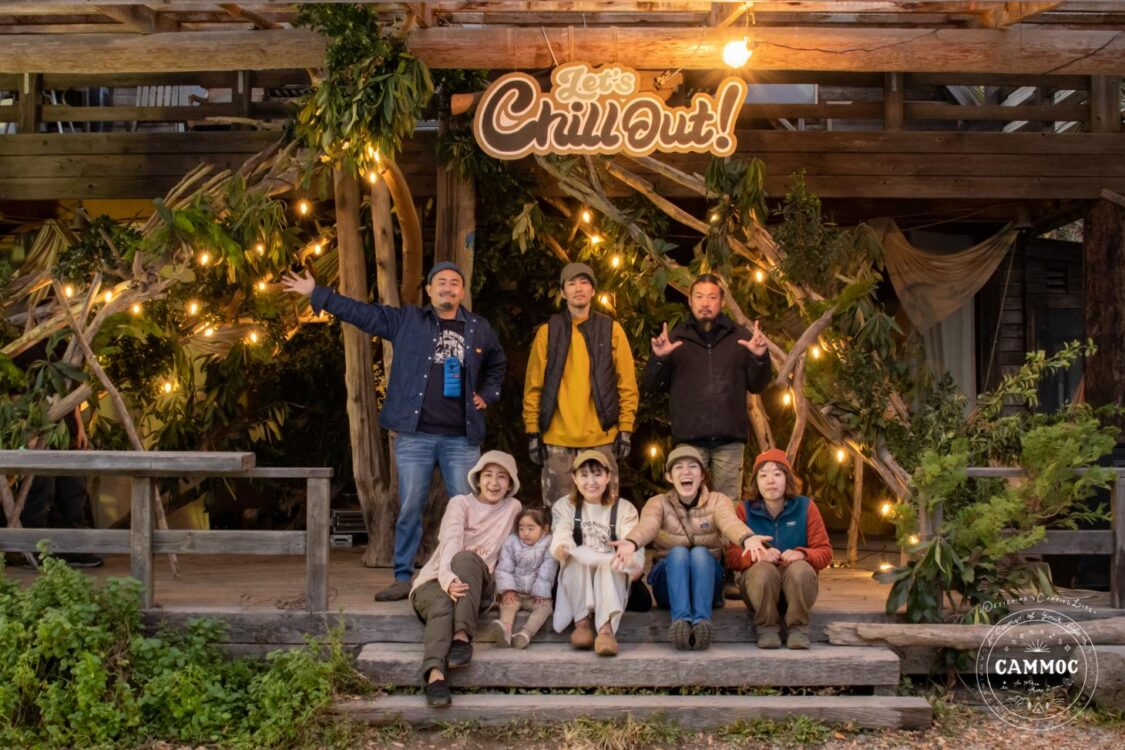 イベントレポート【Let's Chill Out!×FLAH BUGS MEETING】CAMMOC装飾&出店